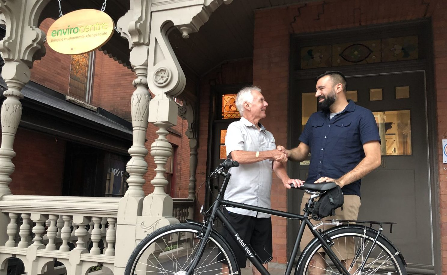 Pedal Easy sparks joy for the lucky winner of Bike to Work Month