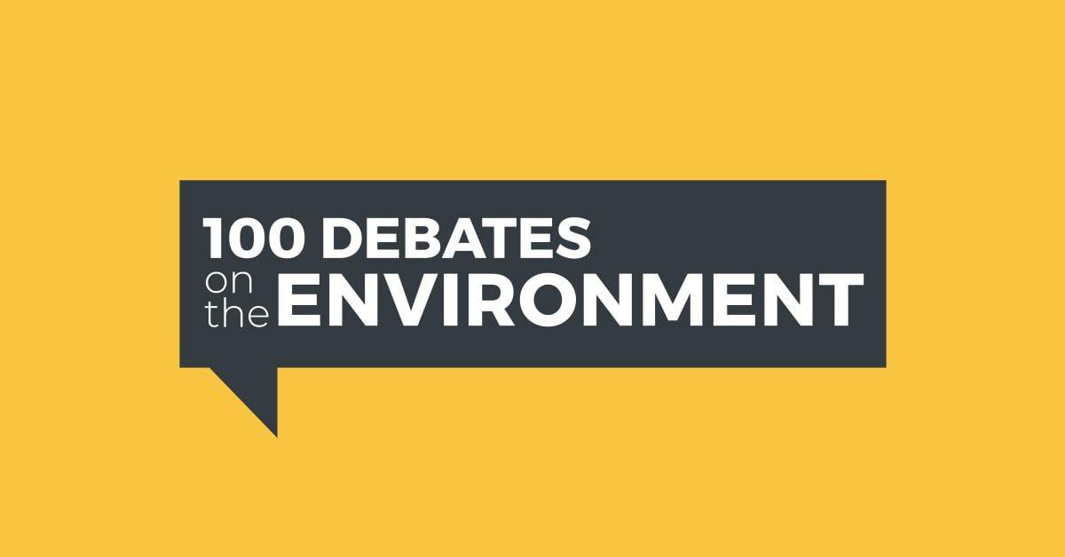 100 Debates on the Environment - Ottawa Centre