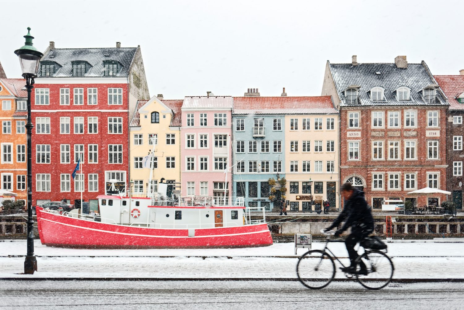 You don't have to live in Amsterdam to cycle in the winter!