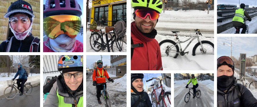 Winter Bike to Work Day 2020!