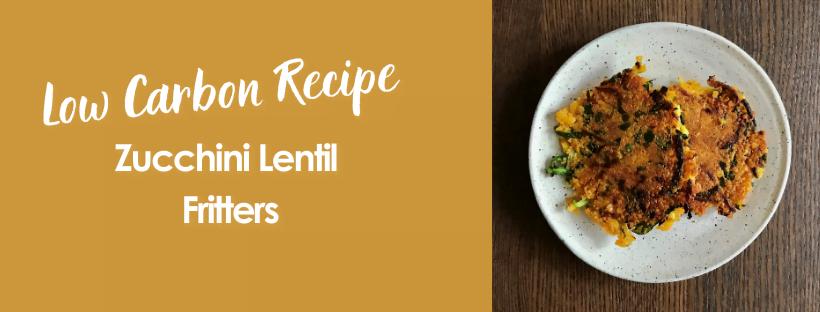 Zucchini Lentil Fritters