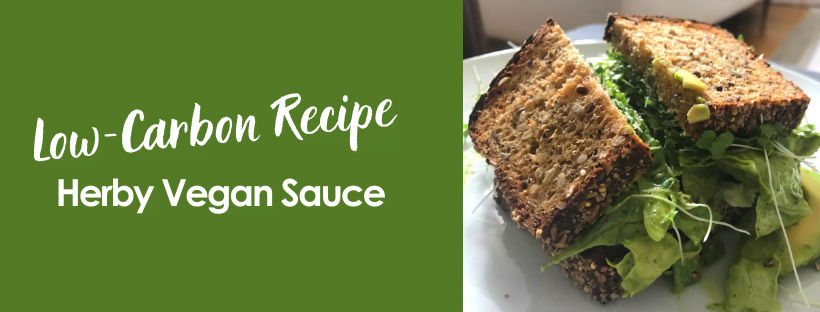 Make Your Own Herby Vegan Sauce