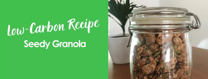 Make Your Own Seedy Granola